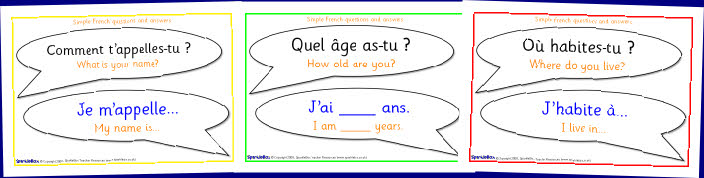 French Questions And Answers on 1161 html
