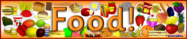 Food display banner sb1902 sparklebox