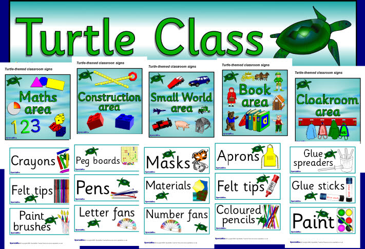 Download image Turtle Themed Classroom Decorations PC, Android, iPhone