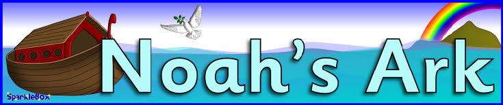Noah's Ark display banner (SB2477) - SparkleBox