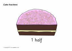 Cake Fractions Sb3076 Sparklebox