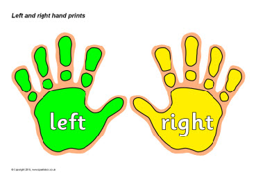 Left and right hand prints SB3090  SparkleBox