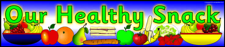 healthy snack display banners sb3231   sparklebox
