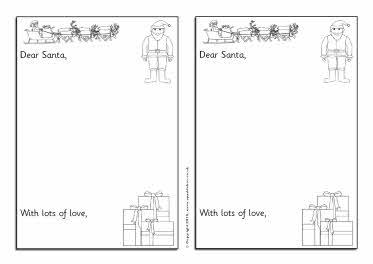 Christmas list writing frames (SB3249) - SparkleBox