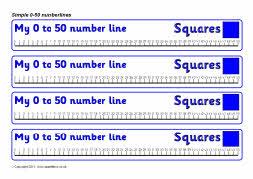 number line 0 50-#19