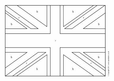 Union flag colouring sheets sb4544 sparklebox for Union flag coloring page