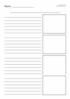 Simple Recount Writing Frames Sb4750 Sparklebox