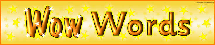 Wow Words Display Banner Sb5781 - Sparklebox-8646