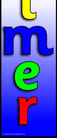 Resource >> Elmer display banner - vertical (SB6456) - SparkleBox