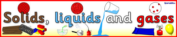 Solids, liquids, and gases?