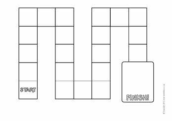 Blank Black And White Game Board Designs