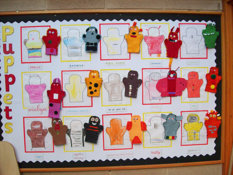 Puppets classroom display photo - Photo gallery - SparkleBox