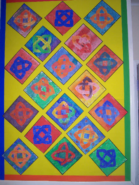 Classroom Design Patterns ~ Celtic patterns classroom display photo gallery