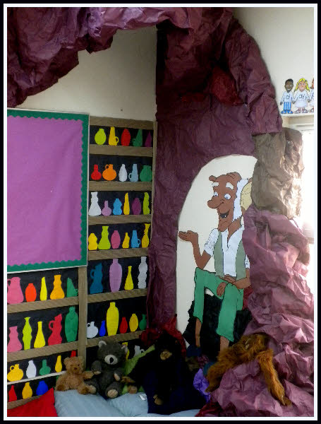 Corner Exhibition Stands Ideas : The bfg reading corner classroom display photo