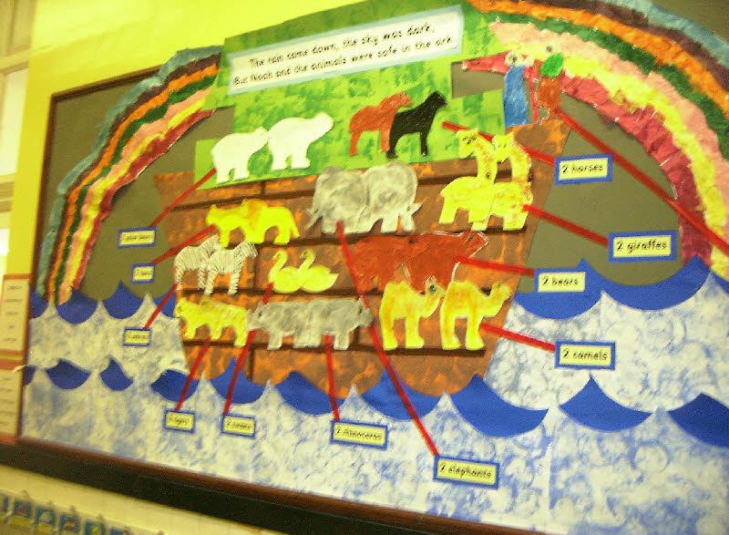 Noah 39 S Ark Classroom Display Photo Photo Gallery