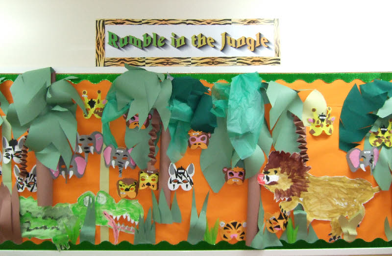 Jungle Animal Crafts For Preschoolers
