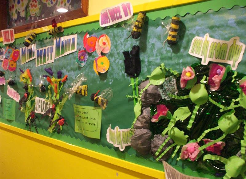 Minibeast Alliteration Classroom Display Photo Photo