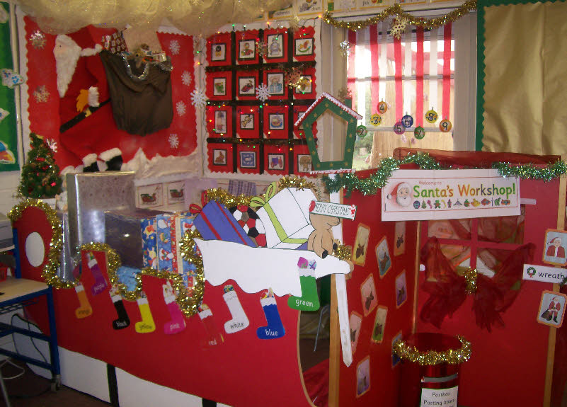 Decorating Ideas > Santas Workshop Classroom Display Photo  Photo Gallery  ~ 102803_Christmas Decorations Ideas Eyfs