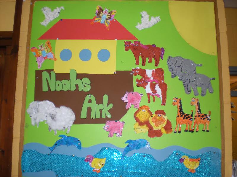 Noah's Ark classroom display photo - Photo gallery