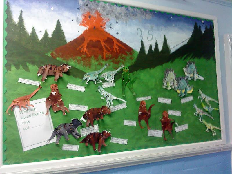 Nursery Classroom Door Decoration ~ Dinosaurs classroom display photo gallery sparklebox