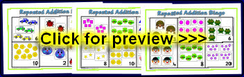 math worksheet : early years and ks1 multiplication teaching resources and  : Repeated Addition Worksheets Ks1