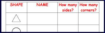 math worksheet : ks1 and ks2 2d shapes teaching resources and printables  sparklebox : Maths 2d Shapes Worksheets