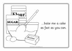 pat a cake coloring pages - photo#21