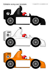 Editable racing car templates sb7756 sparklebox for Blank race car templates