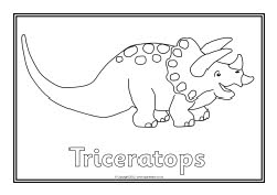 Harry and the Bucketful of Dinosaurs colouring sheets ...