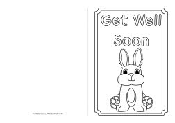 get well card templates