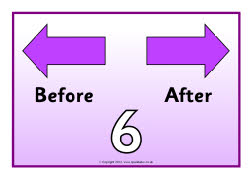 Before and after number posters (SB8888) - SparkleBox