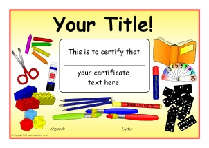 school certificate templates  Printable Starting School Certificates for Early Years - SparkleBox
