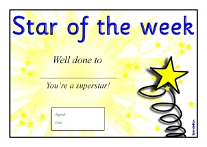 using the star from the sparklebox logo your pupils will love these bright certificates