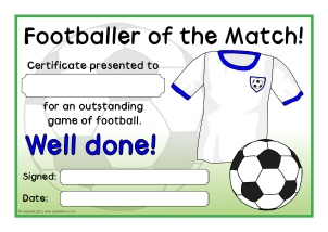 Football certificates exolabogados primary sports award certificates sparklebox yadclub Gallery