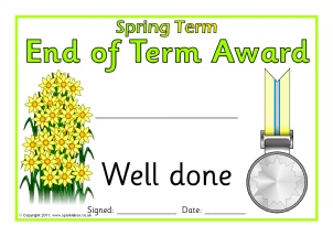 primary school award certificates printables sparklebox