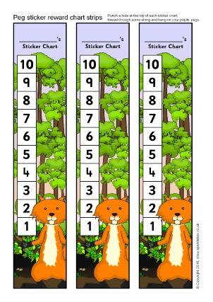 Printable Primary School Sticker Charts Sparklebox
