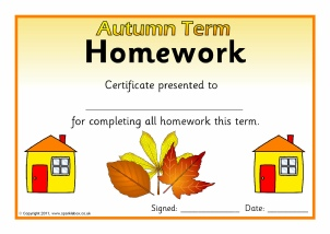 Sparklebox homework awards for kids
