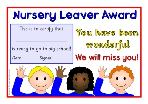 Printable school end of year leavers certificates for primary ks1 nurserypreschool leaver certificates sb4938 yadclub Image collections