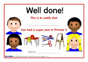 Printable school end of year leavers certificates for primary ks1 end of yeargraduation certificates scottish schools yadclub Choice Image