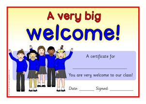 Printable Starting School Certificates for Early Years ...