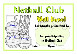 Primary sports award certificates sparklebox for Sports day certificate templates free