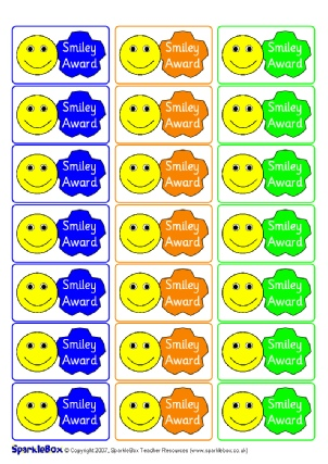 Printable Primary School Award Stickers Ks1 Amp Ks2 Sparklebox