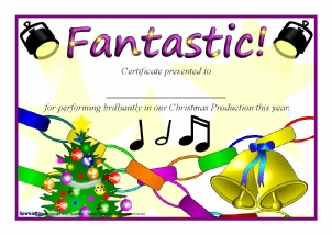 printable christmas award certificates for primary ks1 ks2