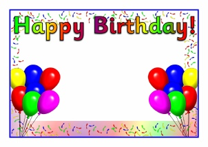 Birthday Board Classroom Display Resources Printables