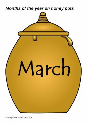 Themed on March Bulletin Board Cute