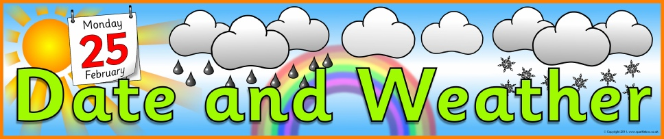 Image result for weather report banner sparklebox