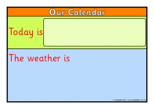 todays daily calender