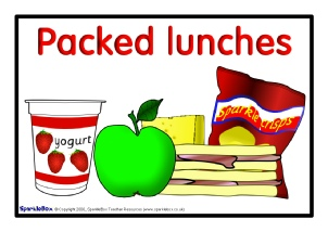 Primary School Lunchtime Routine Signs And Posters