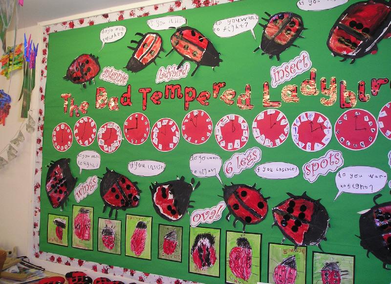 The Bad Tempered Ladybird classroom display photo - Photo ...