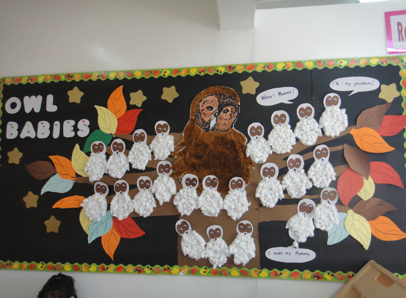 Fall Bulletin Board Ideas For Infant Room